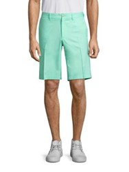J. Lindeberg Somle Golf Shorts Granite Mint
