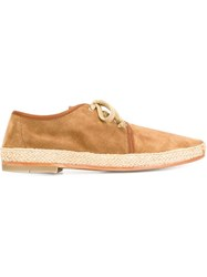 N.D.C. Made By Hand 'Maxim' Lace Up Espadrilles Nude And Neutrals