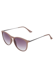 Kiomi Sunglasses Rubberized Nude Smoke
