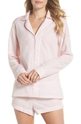 Ugg Cassandra Check Pajamas Seashell Pink White Check
