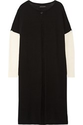 Alice Olivia Wool And Cashmere Blend Cardigan Black