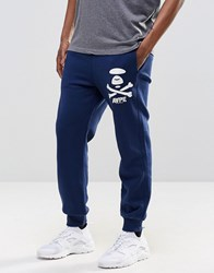 Aape By A Bathing Ape Joggers In Regular Fit Navy
