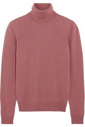 Bottega Veneta Cashmere Turtleneck Sweater Antique Rose