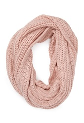 Forever 21 Cable Knit Infinity Scarf Light Pink