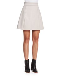 Halston Tulip Shaped Crepe Skirt Black