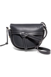 Loewe Gate Small Leather Shoulder Bag Midnight Blue Gbp