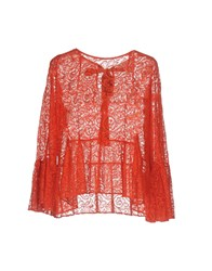 Jucca Shirts Blouses Red