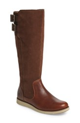 Timberland Women's Lakeville Tall Boot Medium Brown Leather