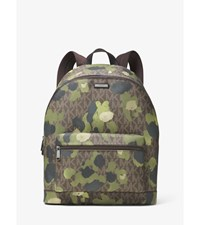 Jet Set Painterly Camo Backpack Evergreen