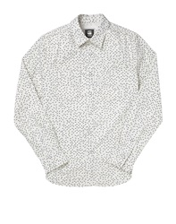 G Star A Crotch Work Shirt With Print