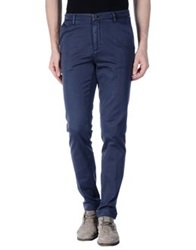 Fred Perry Casual Pants Dark Blue