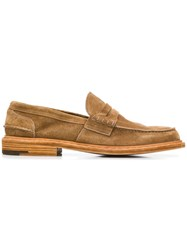 Premiata Classic Loafers Brown