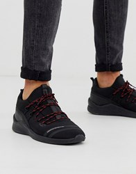 Creative Recreation Hiker Trainer In Black