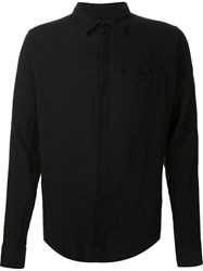 Thom Krom Classic Button Down Shirt Black