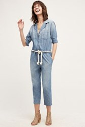 Anthropologie Current Elliott Canal Jumpsuit Lucky Horse S Jumpsuits