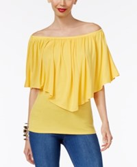 Thalia Sodi Convertible Overlay Top Only At Macy's Bumble Bee