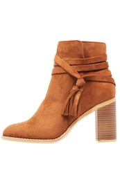 Dorothy Perkins Wasp Ankle Boots Brown