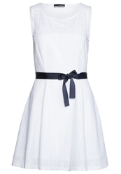 La City Summer Dress Blanc White