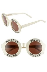 Wildfox Couture Women's 'Bel Air' 44Mm Sunglasses Pearl White