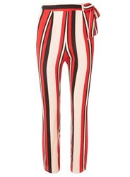 Dorothy Perkins Red Striped Joggers