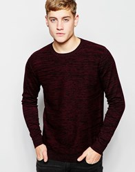 Jack And Jones Jack And Jones Knitted Crew Neck Jumper Fig
