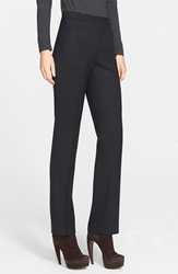 Akris Punto 'Francoise' Stretch Gabardine Pants Black