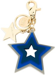 See By Chloa Star Keyring Blue