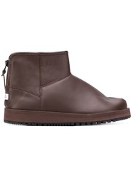Suicoke Padded Ankle Boots Brown