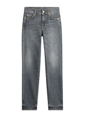 7 For All Mankind Seven Roxanne Straight Leg Jeans Grey
