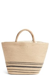 Amuse Society Forever Vacay Jute Bag Beige Tan