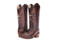 Corral Boots L5039 Chocolate Cognac Women's Brown