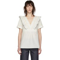 A.P.C. Off White Erwin Blouse