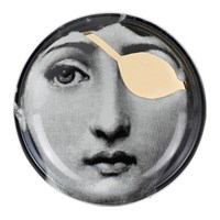 Fornasetti Tema E Variazioni Ashtray Trinket Tray Gold No. 8
