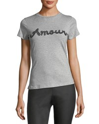 Romeo And Juliet Couture Amour Tee Shirt Gray