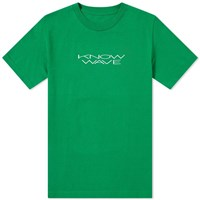 Know Wave Stretch Tee Green