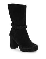 Free People Calf Length Platform Boot Black