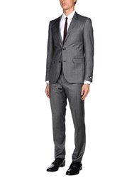 Dkny Suits Grey