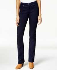 Maison Jules Slim Bootcut Dark Blue Wash Jeans Only At Macy's Rinse