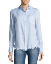 Dl1961 Mercer And Spring Button Down Shirt Blue Blue Pattern