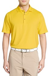 Bobby Jones Men's 'Xh20' Regular Fit Stretch Golf Polo Mimosa