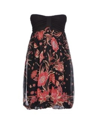 Magazzini Del Sale Short Dresses Black