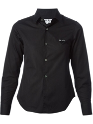 Comme Des Garcons Play Slim Fit Shirt Black