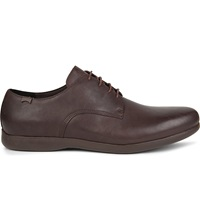 Camper George Leather Derby Shoes Dark Brown