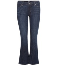 Paige Riley Slim Cropped Jeans Blue