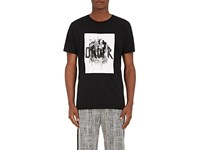 Public School Men's Order Cotton T Shirt Black