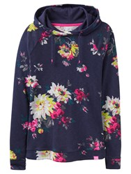 Joules Marlston Lightweight Hoodie French Navy Floral
