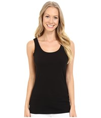 Lilla P Layering Scoop Tank Top Black Women's Sleeveless