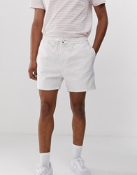 New Look Shorts With Drawstring In White