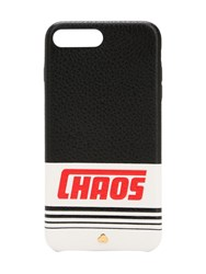 Chaos Reflective Leather Iphone 7 8 Plus Cover Black