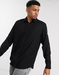 Another Influence Oversized Shirt Black